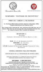 2010-12-10 Sistemas de Incentivos - Gil Ravelo